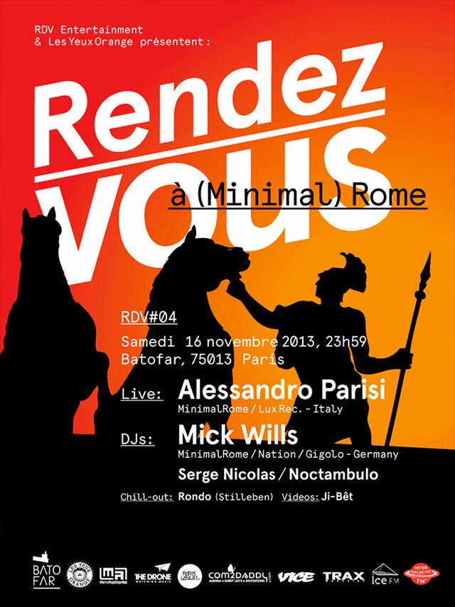 Rendez-Vous 04w/ Alessandro Parisi, Mick Wills @Batofar