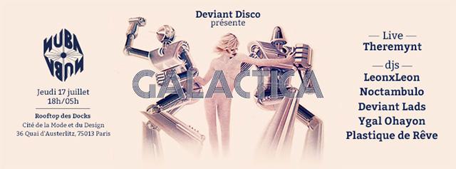 Deviant Disco Nuba 17 Juillet