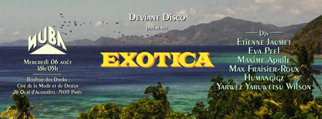Deviant Disco Nuba 06 Août