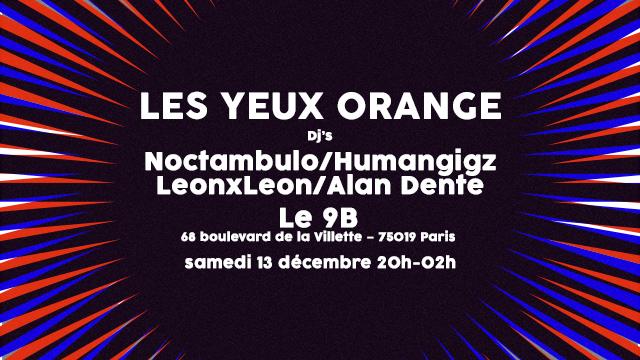 Les Yeux Orange 9B Décembre 2014
