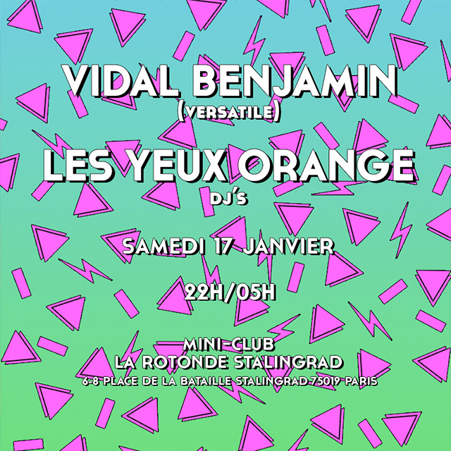 Min Club LYO Vidal Benjamin