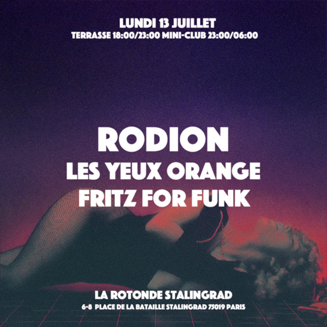 LYO w/ Rodion & Fritz For Funk @ MINI-CLUB