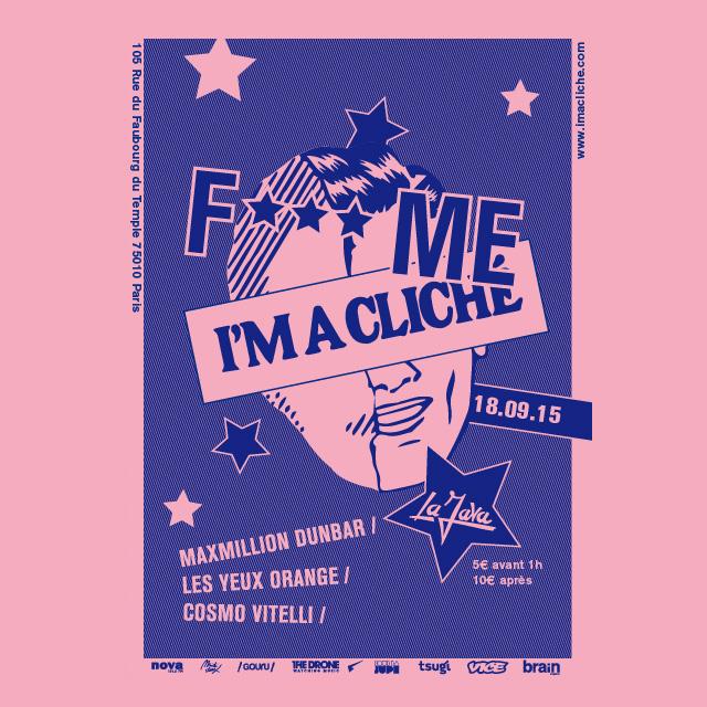 F*** ME I'M A CLICHE - Maxmillion Dunbar, Cosmo Vitelli, Les Yeux Orange