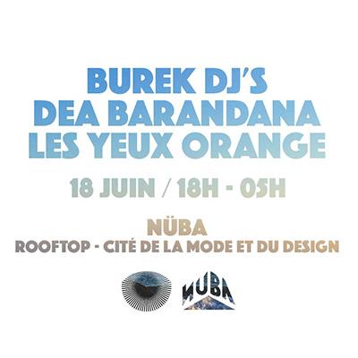 LYO Sunset @Nüba - 18 juin w/ DEA Barandana, Burek Djs, LYO